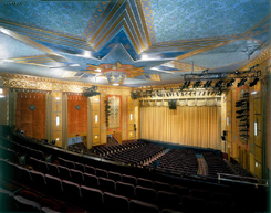 Warner Theater: painter CT
