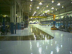 Seamless Industrial Resinous Factory Flooring